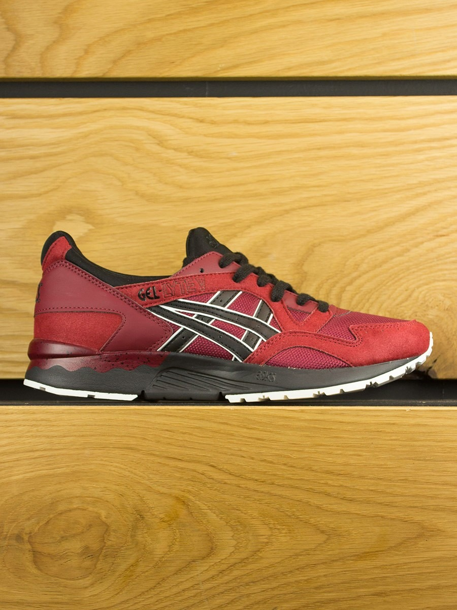 asics gel lyte v pomegranate black asics brands. Black Bedroom Furniture Sets. Home Design Ideas