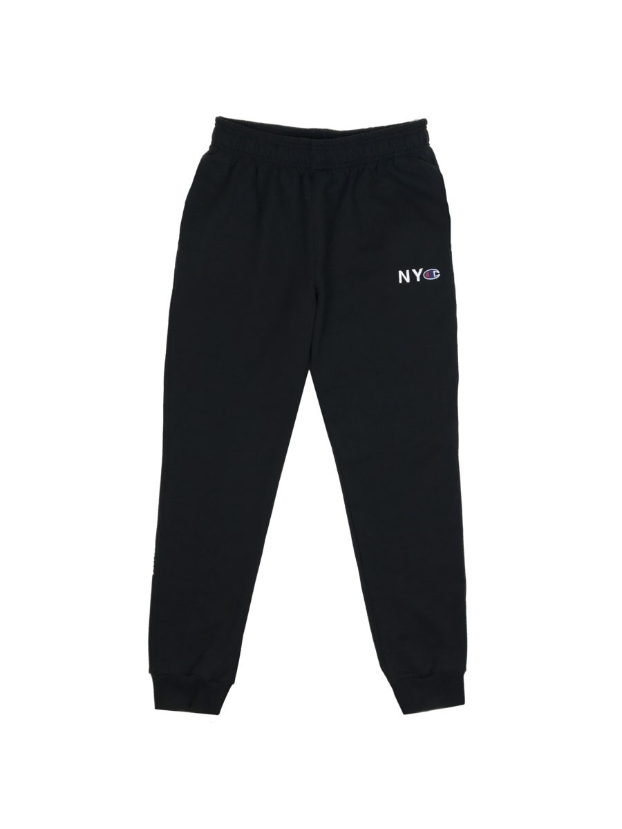 Belief NYC Champion Fleece Sweat Pants - Black aab93a961