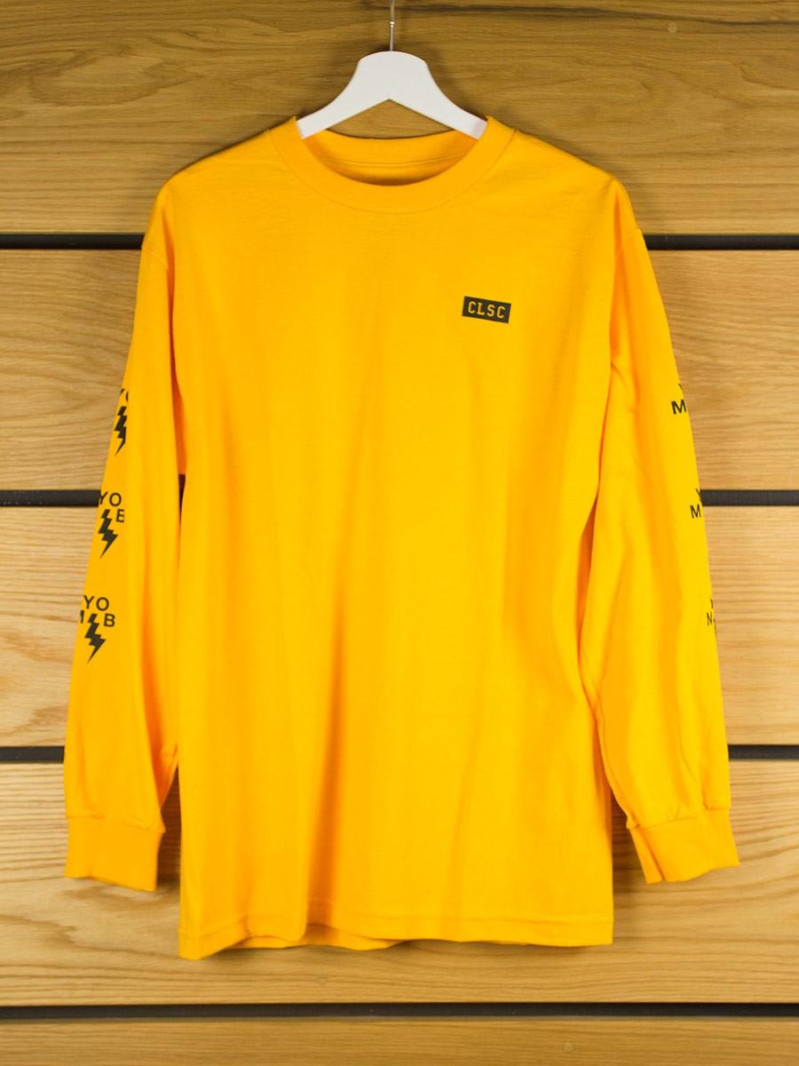 Clsc Business Long Sleeve T Shirt Gold Clsc Brands