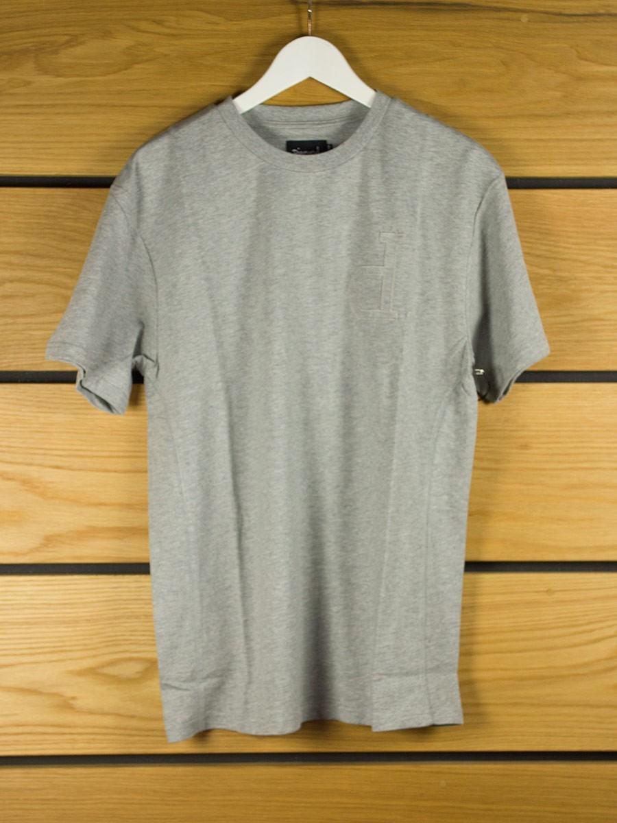 Diamond supply un polo t shirt heather grey for Diamond supply co polo shirts