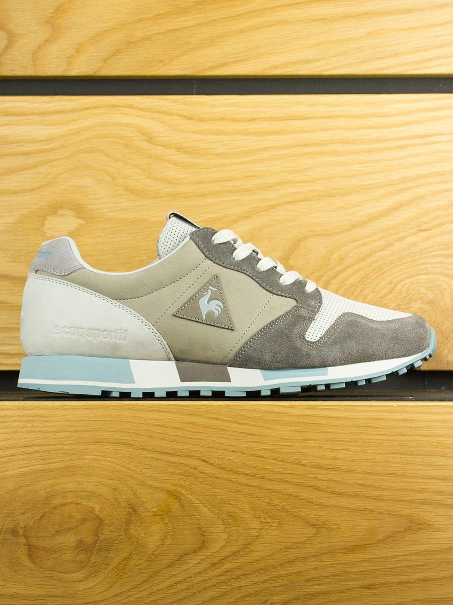 Le Coq Sportif Omega Nubuck Made In France 'Vallee Blanche' Dark Gull / Grey