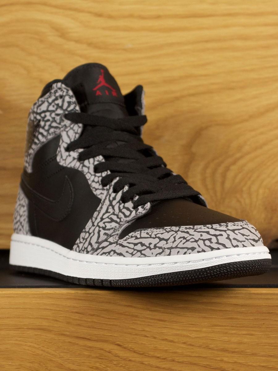 cf4dd92b8cc01c Nike Air Jordan 1 Retro High  Un-Supreme  Cement - Black