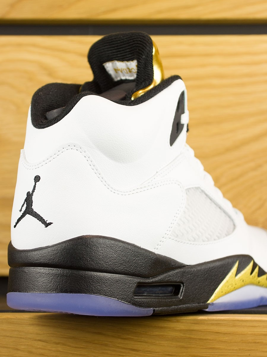 the latest 34a81 26684 Nike Air Jordan 5 Retro  Olympic Gold Medal