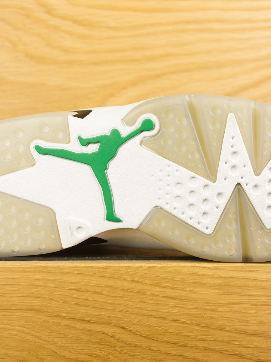 ede572505954 Nike Air Jordan 6 Retro x Gatorade  Like Mike  - Summit White Team Orange