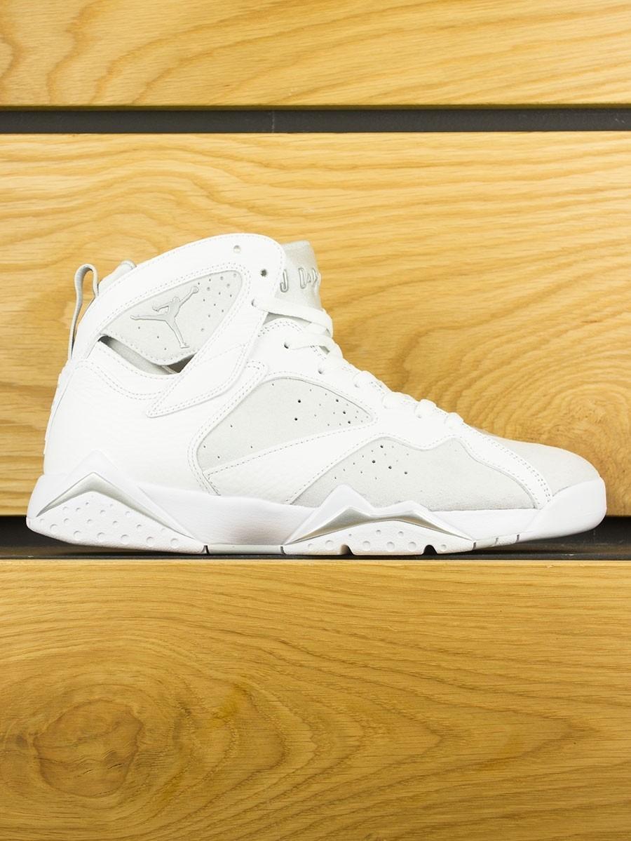 Nike Air Jordan 7 Retro - White Metallic Silver 031aa140a