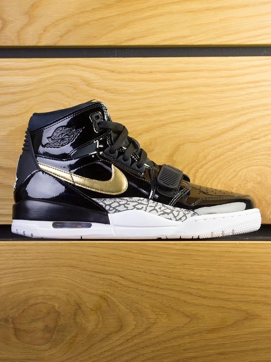 05f42b1fbf6d Nike Air Jordan Legacy 312 x DON C - Black Metallic Gold White