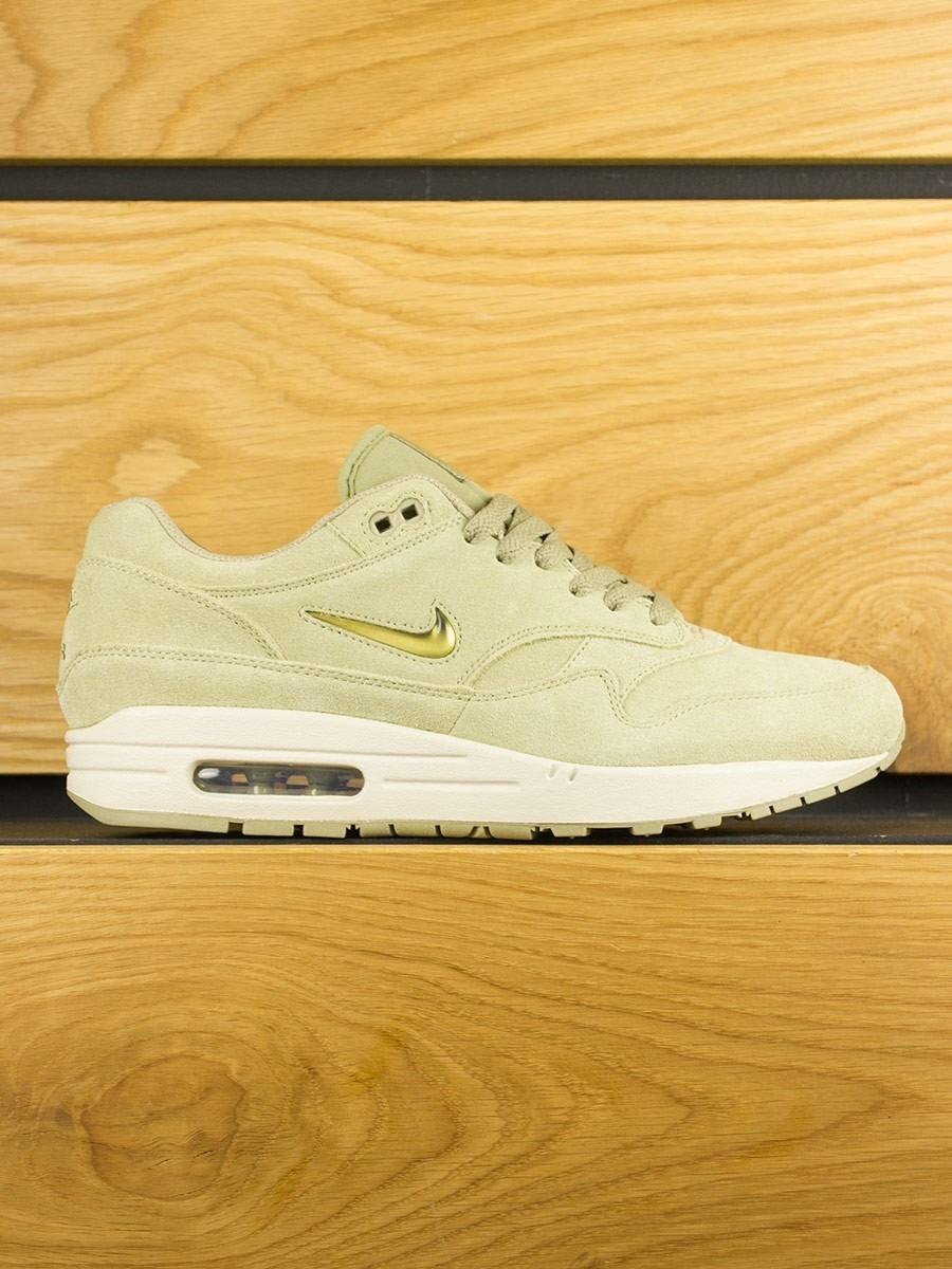size 40 c263b ea632 Nike Air Max 1 Premium SC  Jewel  - Neutral Olive Metallic Gold