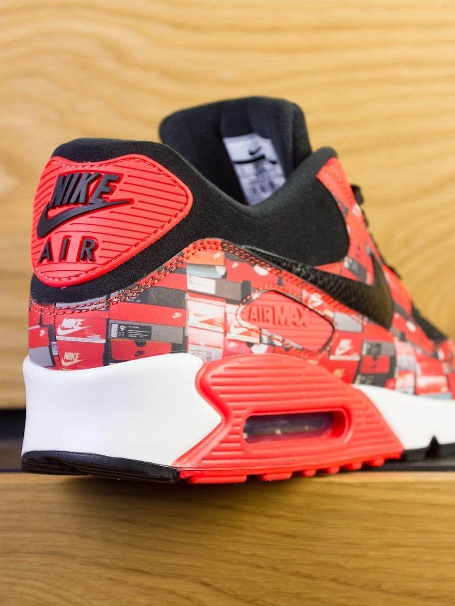 the best attitude e94ab bda94 Nike Air Max 90 PRNT x Atmos Premium QS