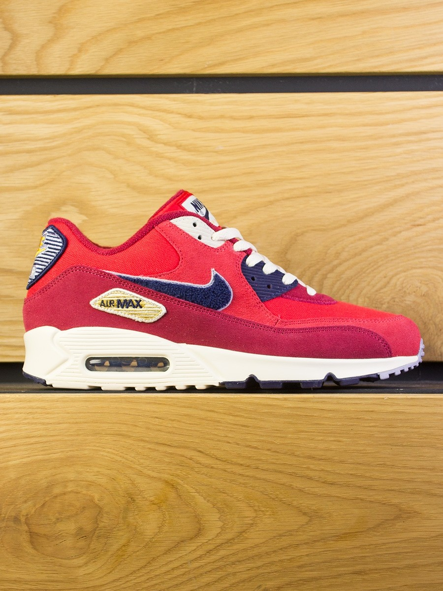 Nike Air Max 90 Premium SE - University Red Provence Purple 5aa08f0de