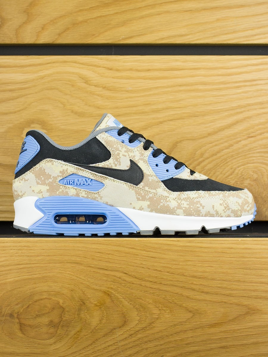 Nike Air Max 90 White Gold Camo