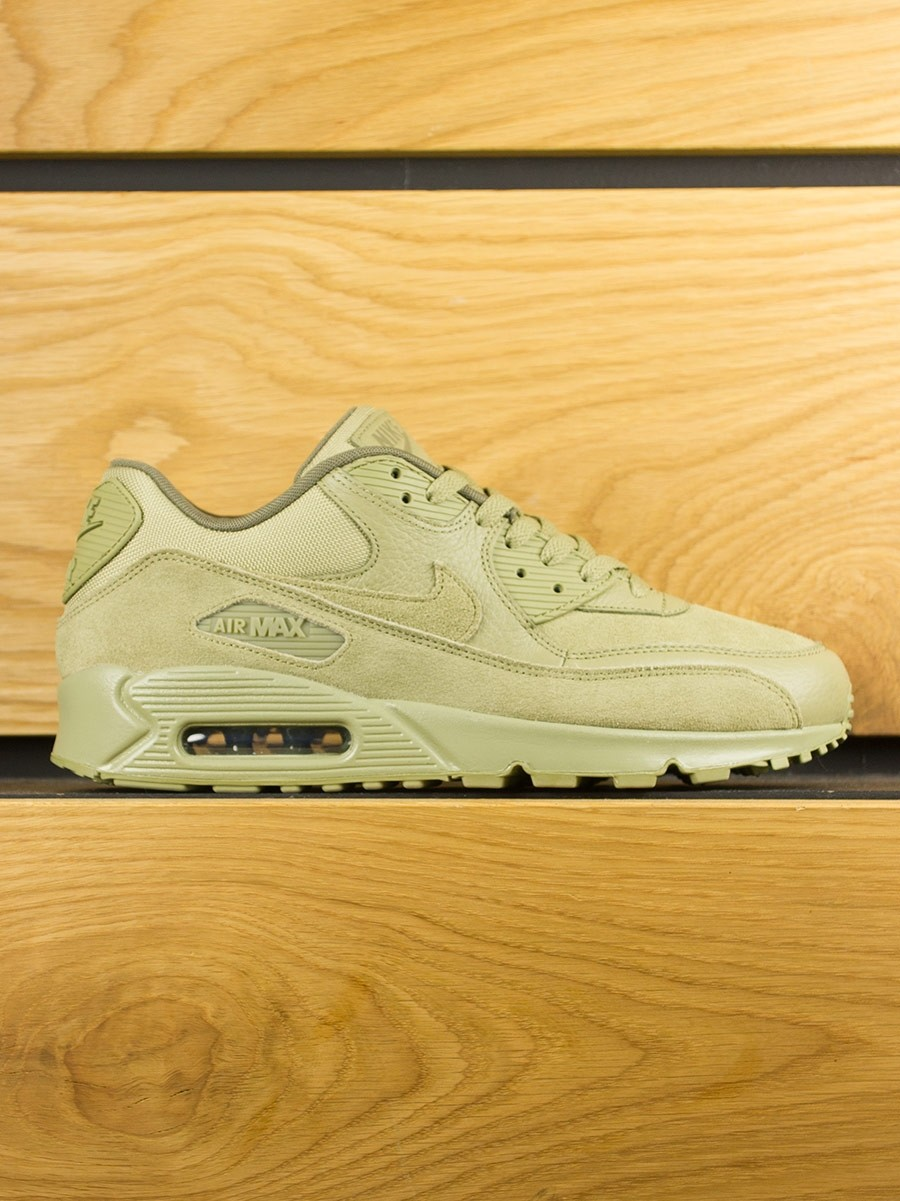 separation shoes 22e77 0160f Nike Air Max 90 Premium - Neutral Olive - Footwear