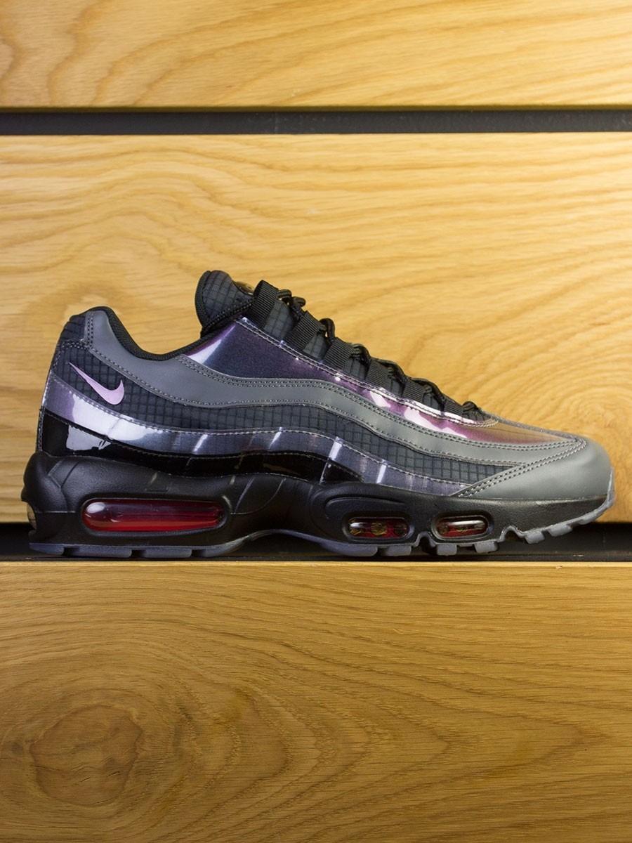 a57c25cd30 Nike Air Max 95 LV8 - Black Ember Glow Dark Grey