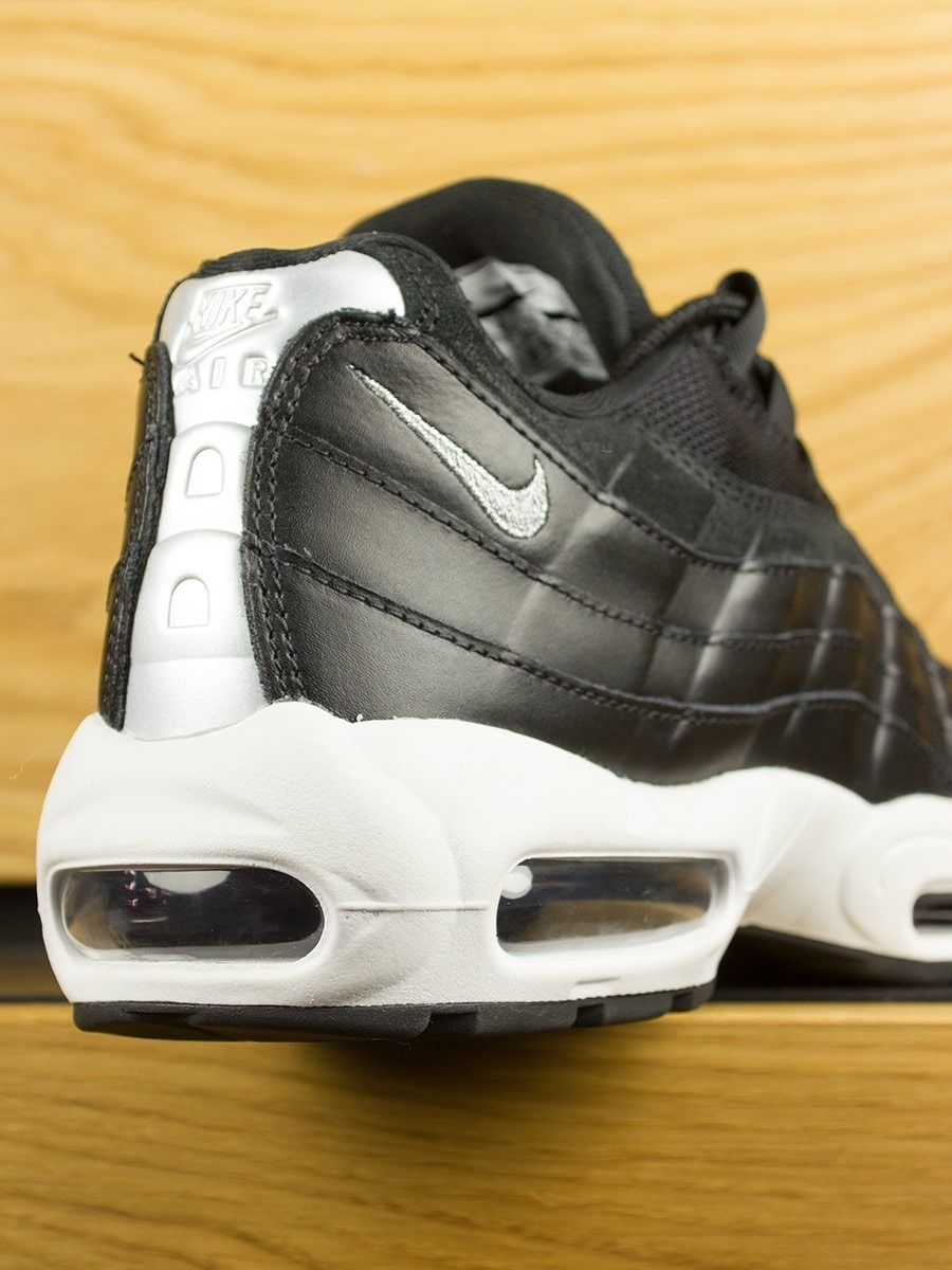 99acf85ebe Nike Air Max 95 Premium 'Rebel Skull' - Black Off White