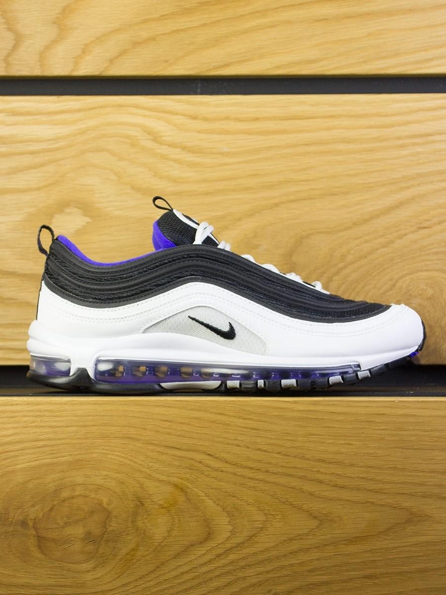 b98ab2b8e84d5 Nike Air Max 97 - White Black Persion Violet