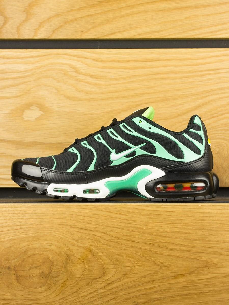 innovative design ac137 96372 Home  Nike Air Max Plus (TN) - Black White Electric Green. -33%Sale