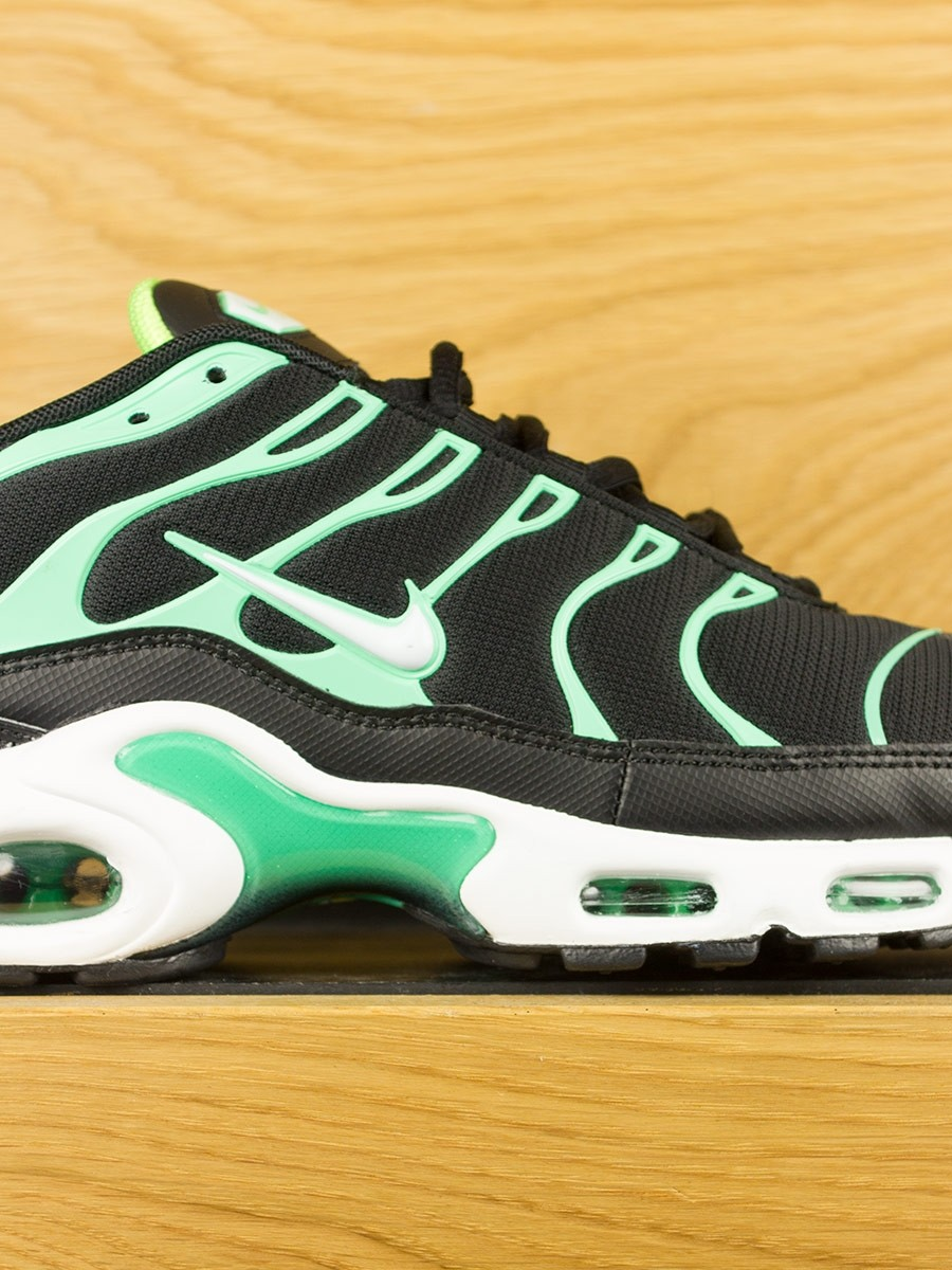3f7d3411b1 ... coupon code for nike air max plus tn black white electric green c1c6a  af90a