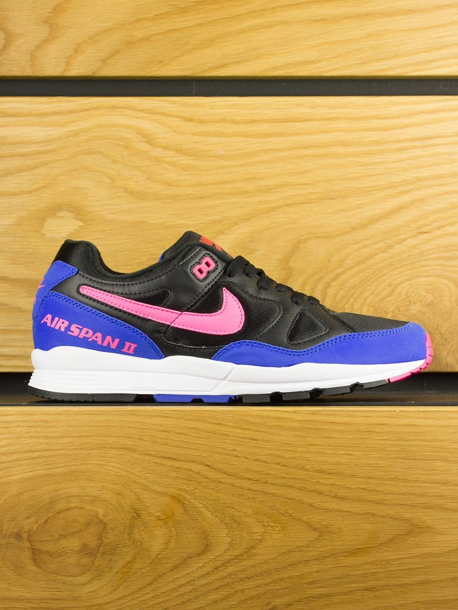 622974fcf4 Nike Air Span II - Black Hyper Pink Hyper Royal