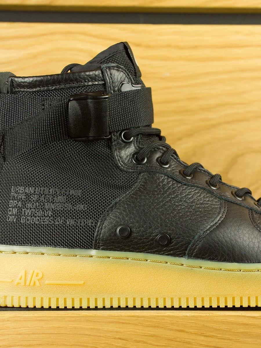 new arrivals 61a92 6a3a0 Nike SF Air Force 1 Mid - Black Gum Light Brown