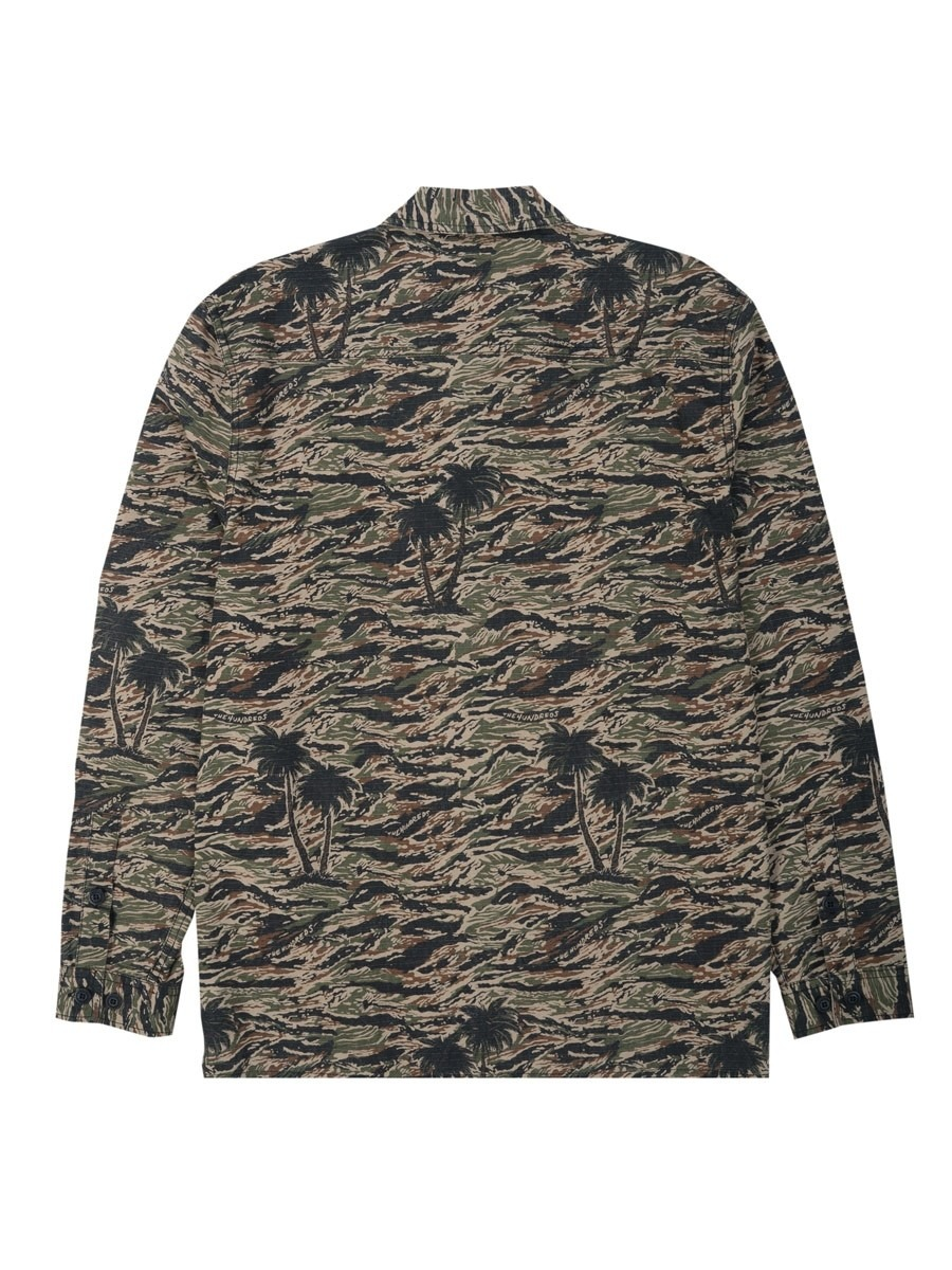 e8bc2a6d9e0f8 Home; The Hundreds Guerrero L/S Woven Shirt - Camo. -50%Sale