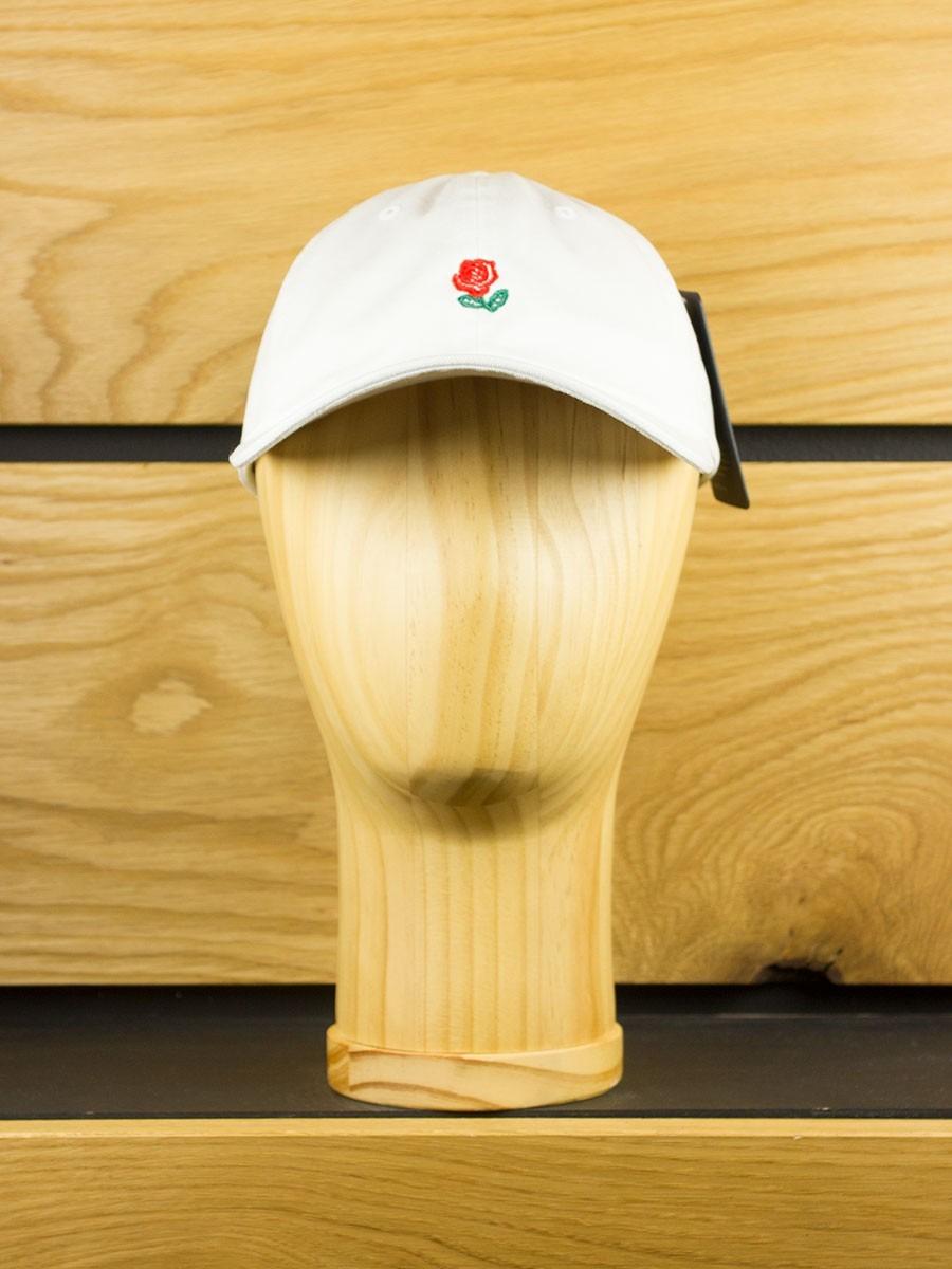 40d19b3185eca The Hundreds  Rose  Strapback Dad Hat - White