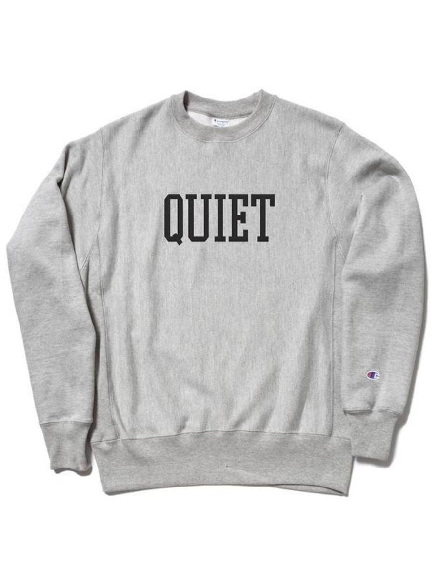 94feb079 The Quiet Life Champion Reverse Weave Crewneck - Heather Grey