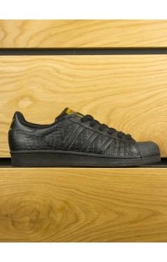Adidas Superstar Croc - Black Black Gold