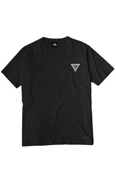 Ageless Galaxy Sunrise Spectrum 006 T-Shirt - Black