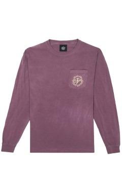 Belief Atlantic L/S Pocket T-Shirt - Berry
