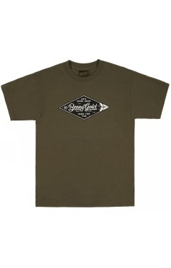 Benny Gold Diamond Label T-Shirt - Army Green