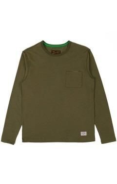 Benny Gold Sideline Premium Pocket L/S T-Shirt - Olive