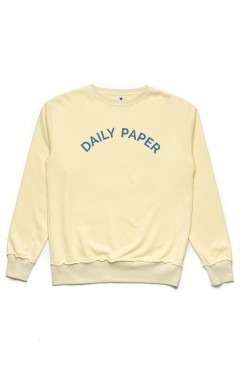 Daily Paper Lemon French Terry Crewneck Sweater
