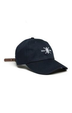 Daily Paper Shield Logo Cap - Navy