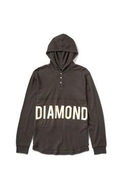Diamond Supply Winston Pullover Thermal - Brown