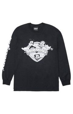 The Hundreds x Animaniacs Shield L/S T-Shirt - Black