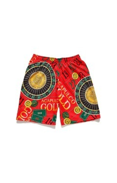 Acapulco Gold Monte Carlo Basketball Shorts - Red