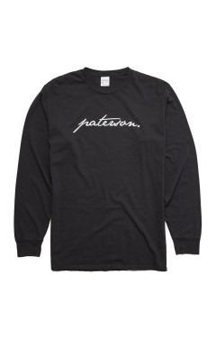 Paterson Scripted L/S T-Shirt - Black
