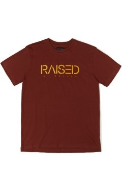 Raised by Wolves Spirit T-Shirt - Brick Red