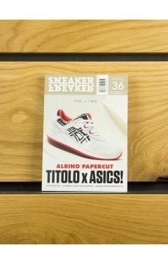 SNEAKER FREAKER MAGAZINE ISSUE 36 (Titolo Asics Cover)