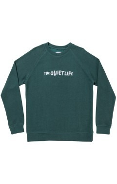 The Quiet Life Marx Crewneck - Dark Teal