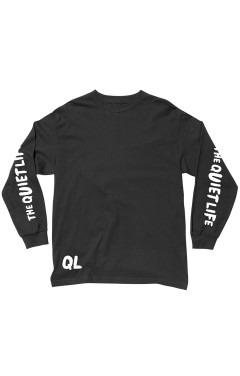 The Quiet Life Marx L/S T-Shirt - Black