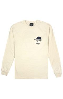 Belief Typeface L/S T-Shirt - Ivory
