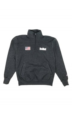 Belief World Trade Champion Quarter Zip - Charcoal Heather