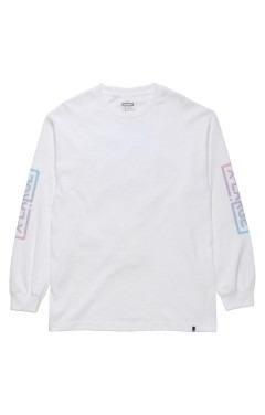X-Large Collapse L/S T-Shirt - White