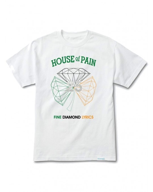 Diamond Supply Co x House Of Pain H.O.P T-Shirt - White