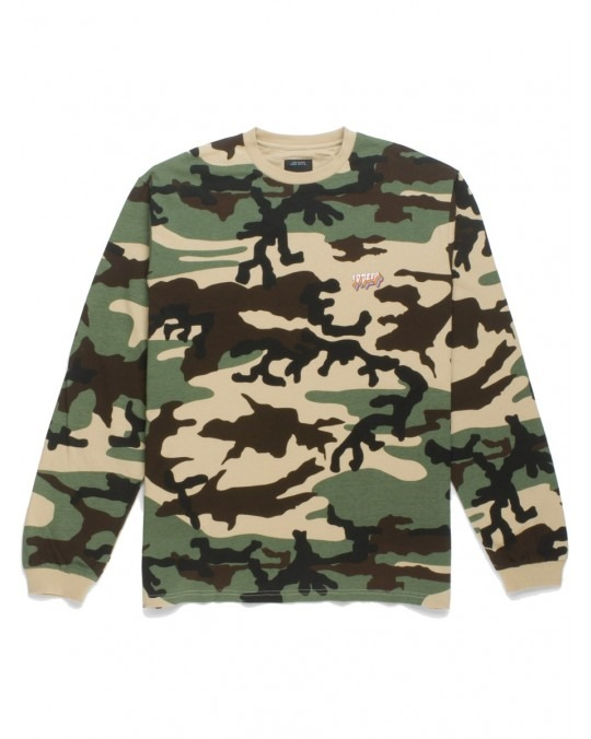10 Deep All Of The Lights L/S T-Shirt - New Woodland Camo