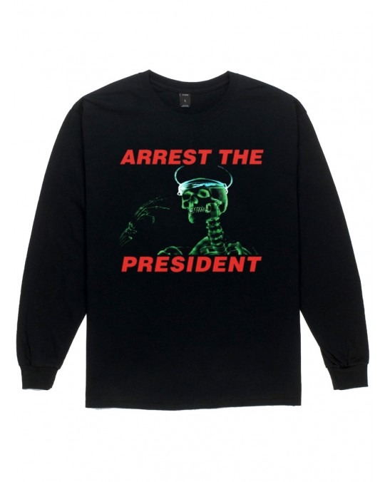 10 Deep Arrest The President L/S T-Shirt - Black