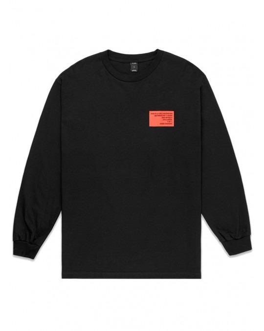 10 Deep Colab L/S T-Shirt - Black