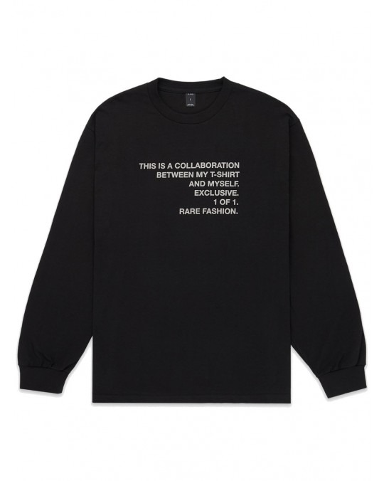 10 Deep Collab L/S T-Shirt - Black