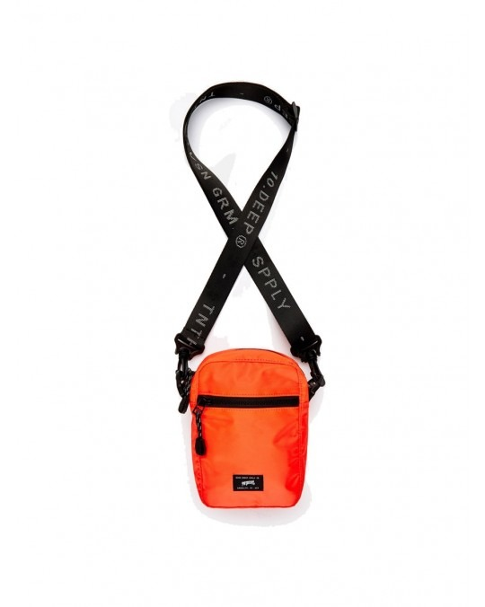 10 Deep Division Satchel - Neon Orange