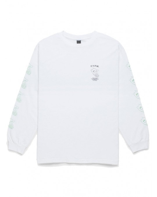 10 Deep Pay Up L/S T-Shirt - White